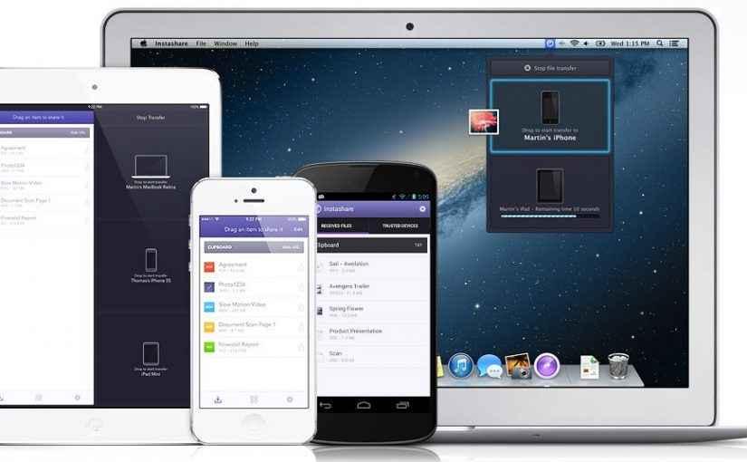 передача файлов на iphone