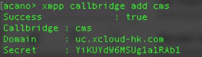 cisxo meeting xmpp callbridge